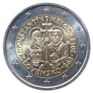 obce 10 XX wiek 2 euro Słowacja r