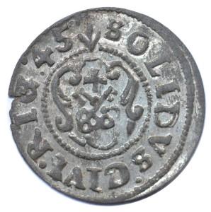 II ok. szw. Krystyna Ryga 1645-2 r